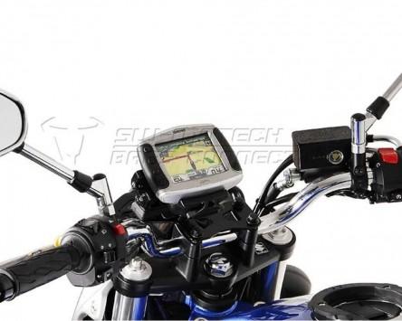 GPS Navi Halter QUICK-LOCK Vibrationsgedämpft. für Honda CB 1000 R von 2011 bis
