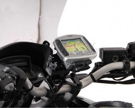GPS / Navi Halter QUICK-LOCK. Honda Crosstourer , 12-, vibrationsgedämpft.
