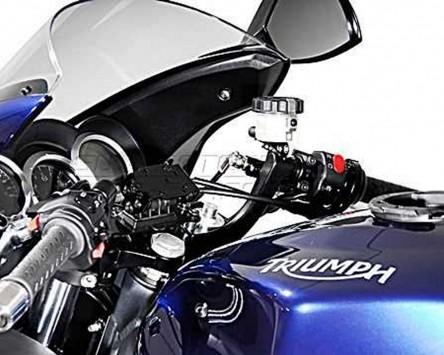 GPS / Navi Halter QUICK-LOCK Vibrationsgedämpft. Ducati 848 Streetfighter 12-