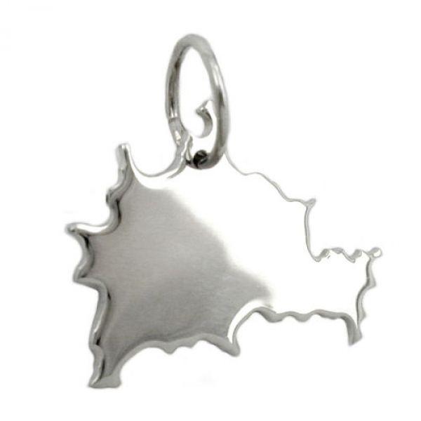 Anhänger, BRD-Bundesland BE, Silber 925