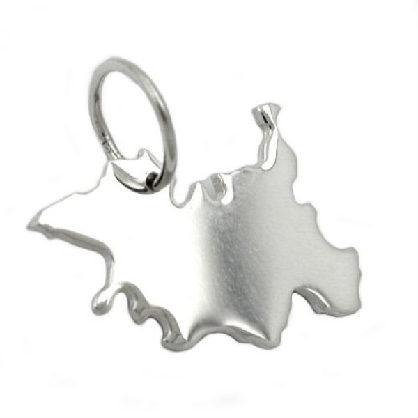 Anhänger, BRD-Bundesland SH, Silber 925