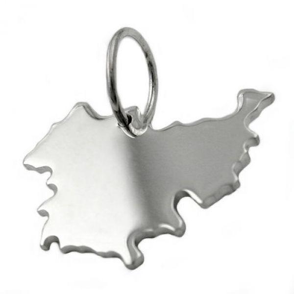 Anhänger, BRD-Bundesland TH, Silber 925