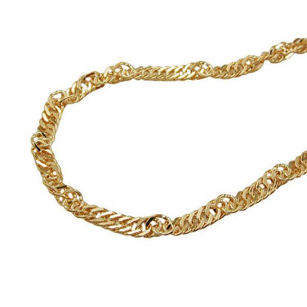 Armband, Singapur 19cm, 9Kt GOLD 19cm