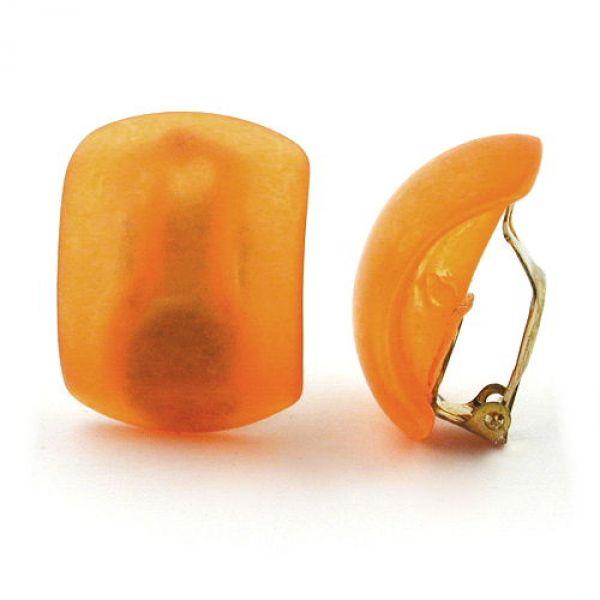 Clip, Halbcreole, orange-transparent