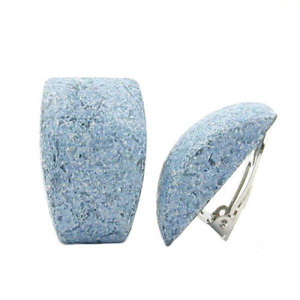 Clip, Trapez jeansblau-sand