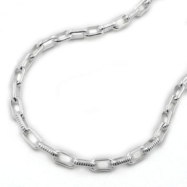 Collier, Ankerkette, Silber 925 42cm