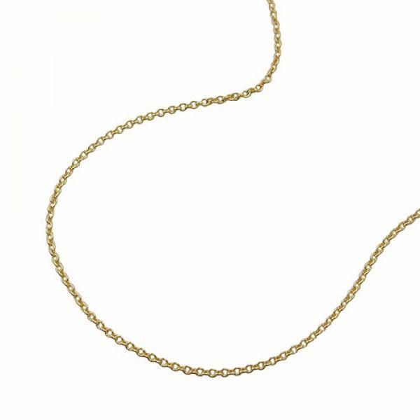 Collier, dünne Ankerkette 36cm, 9Kt GOLD 36cm