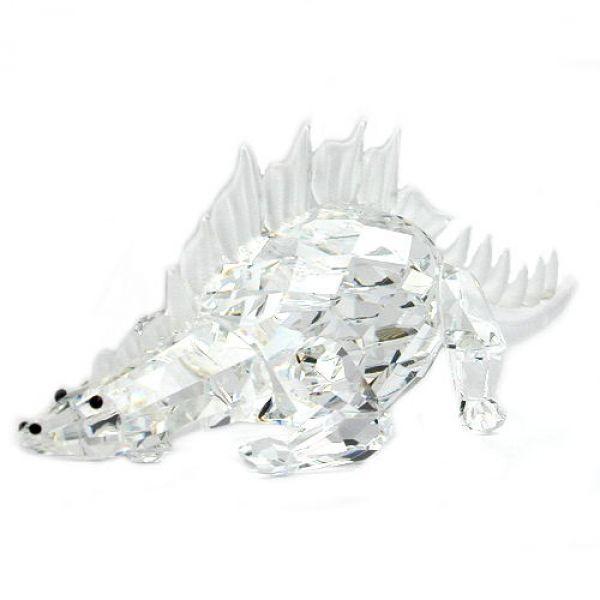 Dinosaurier, kristall klar