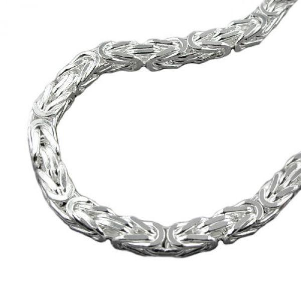Kette, 7mm Königskette, Silber 925