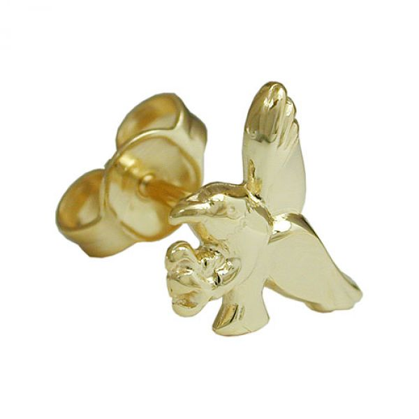 Stecker, Adler, 9Kt GOLD