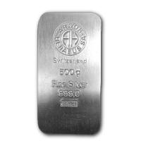 Silberbarren - 500g Feinsilber