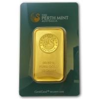 50g Goldbarren - Perth Mint