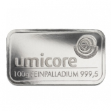 Palladium Barren - 100g Palladium