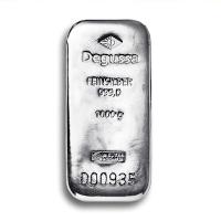 Silberbarren Degussa/Heraeus/Umicore - 1 KG Silber