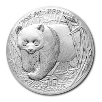 China - 10 Yuan Panda 2002 - 1 Oz Silber