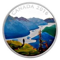 Kanada - 20 CAD Landscape Reaching 2016 - 1 Oz Silber