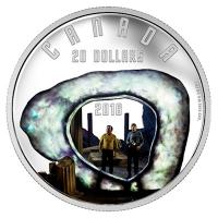 Kanada - 20 CAD Star Trek Filmszenen The City 2016 - 1 Oz Silber