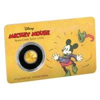Niue - 2,5 NZD Disney Mickey Mouse Schneiderlein 2016 - 0,5g Gold