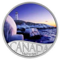 Kanada - 10 CAD 150 Jahre Kanada Leuchtturm 2016 - Silbermünze