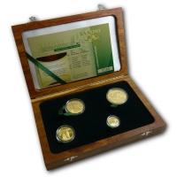Südafrika - Natura Prestige Set 2011 - 1,9 Oz Gold