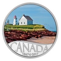 Kanada - 10 CAD 150 Jahre Kanada Panmure Island 2017 - Silbermünze