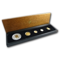 Australien - 71 AUD Kookaburra Gold Proof Set 2006 - Gold/Silber PP