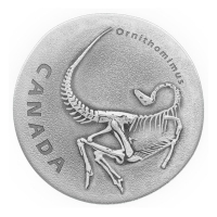 Kanada - 20 CAD Ornithomimus 2017 - 1 Oz Silber