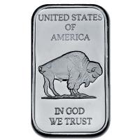 USA - American Buffalo Barren - 1 Oz Silber Barren